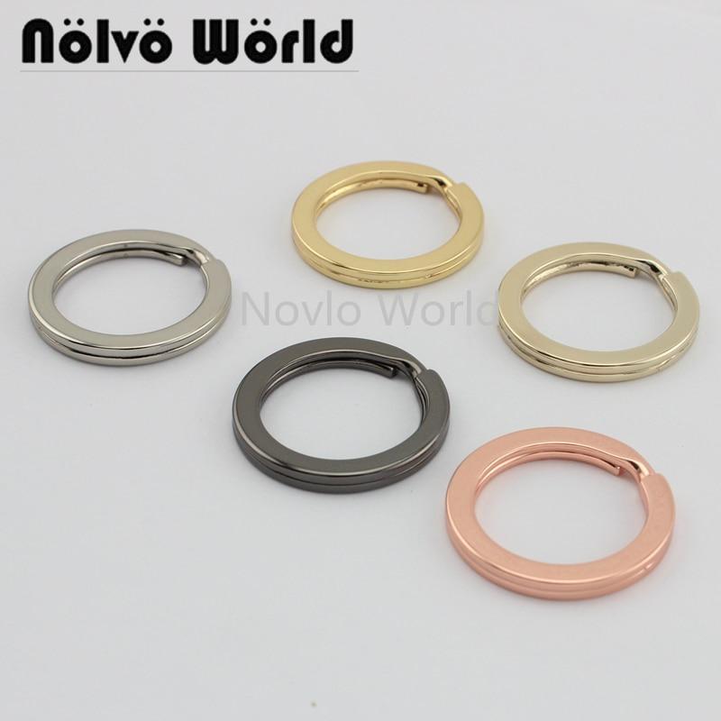 10-50pcs 5 Colors Key Ring Inner 3.4mm, Outside 31mm Key Rings,high Quality Keyrings