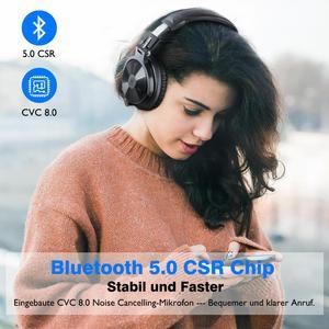 Image 3 - Oneodio auriculares inalámbricos con Bluetooth V5.0, dispositivo con cable, estéreo, para teléfonos y PC