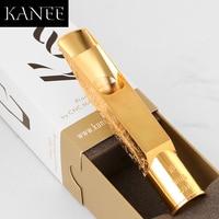 KANEE Metal mouthpiece Carving FLOWER Eb alto Bb Tenor Sax Metal mouthpiece