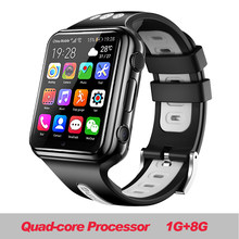 W5 2020 NFC Waterproof 4G Smartphone Watch Downloadable APP MP4 Play AI Smart Voice Relogio Inteligente Correa Mi Band 4 Lemf Le(China)