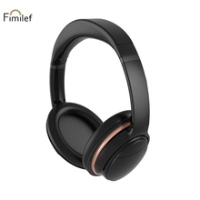 цена на Fimilef Wireless Bluetooth Headset CVC Noise Cancelling Wireless Headphones Microphone Phone/Tablet For Mobile Phone/iPod