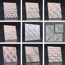 Concrete wall brick silicone mold cement background mould plaster decoration