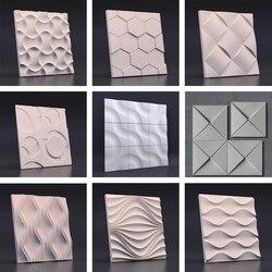 Molde de silicona para pared de hormigón, molde para pared de cemento, molde para pared de fondo, molde para decoración de yeso, molde para decoración de pared