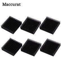 Maccurat – dissipateur thermique en aluminium pour le refroidissement de l'imprimante 3D, 40mm x 40mm x 11mm, 6 pièces