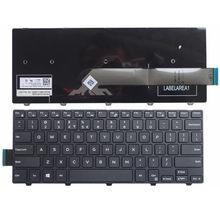 Para Dell 14 14-5000-5447 5442 5443 5451 5455 5458 Laptop Keyboard com Retroiluminado