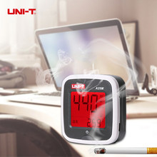UNI-T A25M PM2.5 Meter Air Quality Detector 0~500ug Cubic Meters Auto Range Overload Indicate Red Alarm Backlight