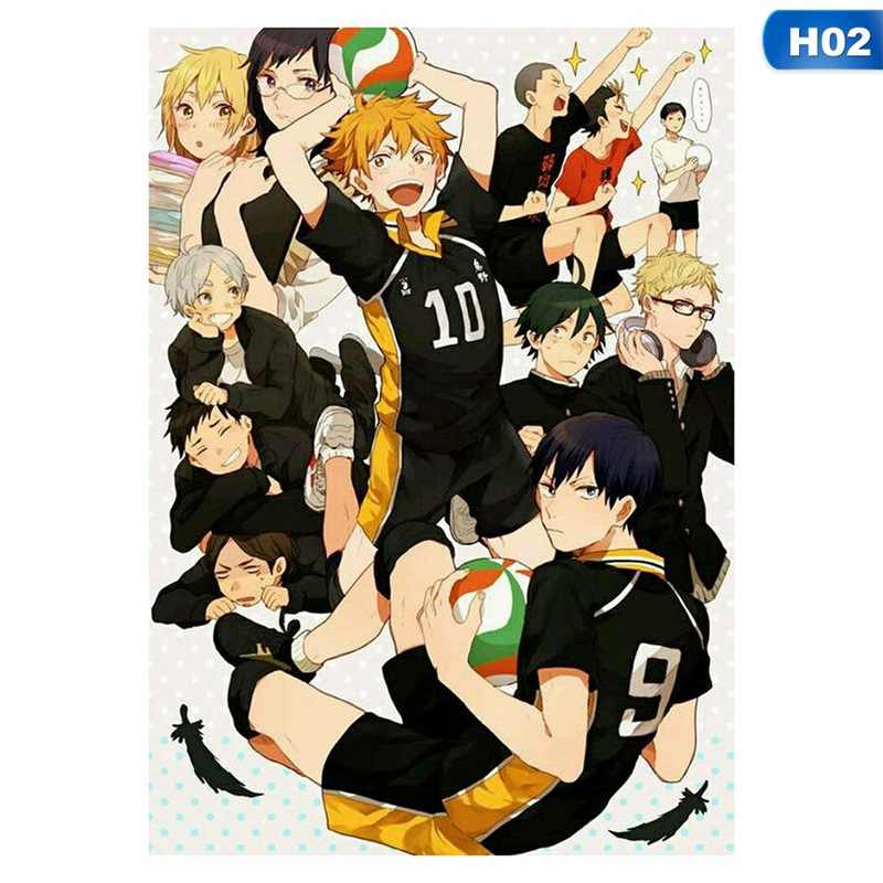 Haikyuu!! Haikyuu Anime Manga Wall Poster Scroll Home Decoration Wall Art 2019