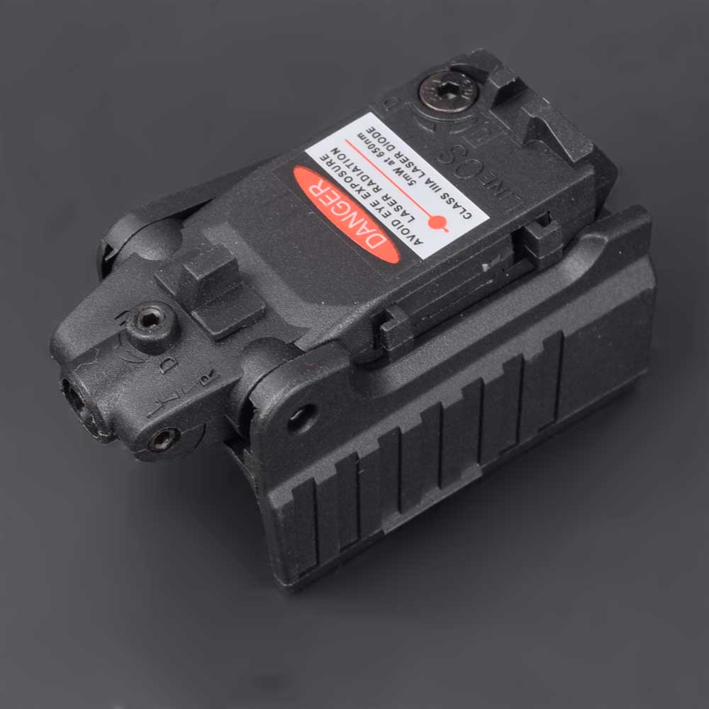 Military Airsoft Tactical Compact Pistol Hand Gun Red Laser Sight Scope High Mount For Glock 17 18C 22 34 Series-3