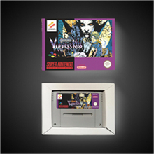 Castlevania Vampires kiss tarjeta de juego de acción versión europea con caja de venta al por menor