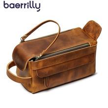 متعددة الوظائف السفر حقيبة مستحضرات التجميل جلد طبيعي المرأة حقيبة مستحضرات تجميل أدوات التجميل المنظم مقاوم للماء تخزين الإناث يشكلون الحالات