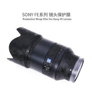 Image 2 - עדשת משמר מדבקות עור לעטוף כיסוי מגן עור Sony FE 50 f1.4 נגד שריטות