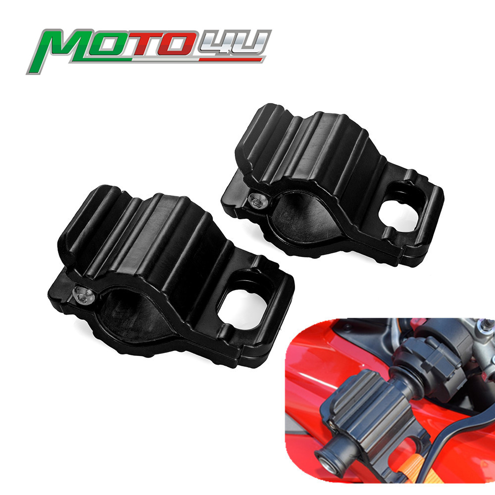 New Tie-Down Clamp Universal Motorcycle Tie Down Emergency Snap Connection Handlebar Motorbike Accessories For BMW For YAMAHA