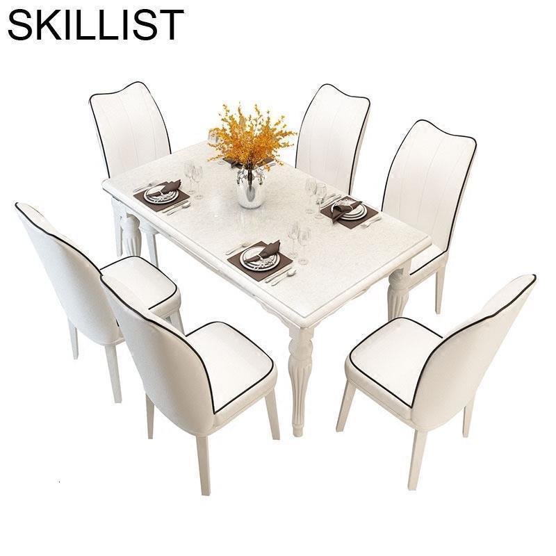 Yemek Masasi Tavolo A Manger Moderne Marmol Juego Set Comedores Mueble Eet Tafel De Jantar Mesa Comedor Bureau Dining Room Table