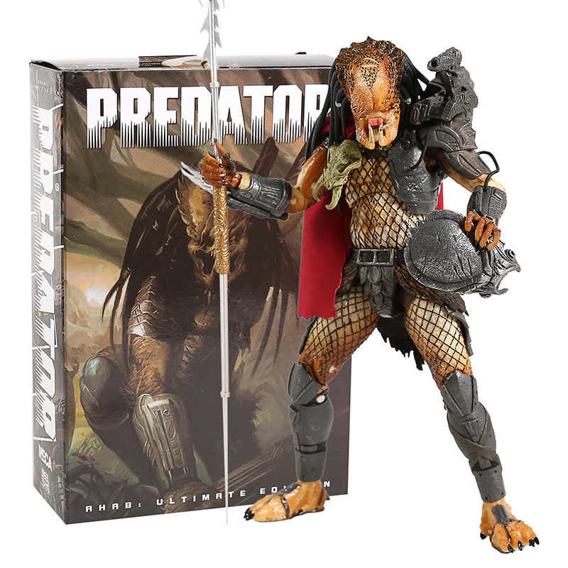 Neca Predator Ahab Ultimate Edition Action Figure Collectible Model Mainan