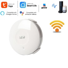 Electric WiFi Water Sensor Flood Leak Detector Alarm Tuya Smart Life App for IOS Android Notification Alerts(China)
