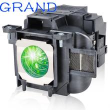 Dla ELPLP87 V13H010L87 PowerLite 520 525 W 530 535 W BrightLink 536Wi EB-520 525 W 530 530 S 535 W 536Wi dla lampy projektora EPSO N tanie tanio HAPPY BATE 180 days Replacement Projector Lamp With Housing BrightLink 536Wi EB-520 EB-525W EB-530 EB-535W EB-536Wi PowerLite 520