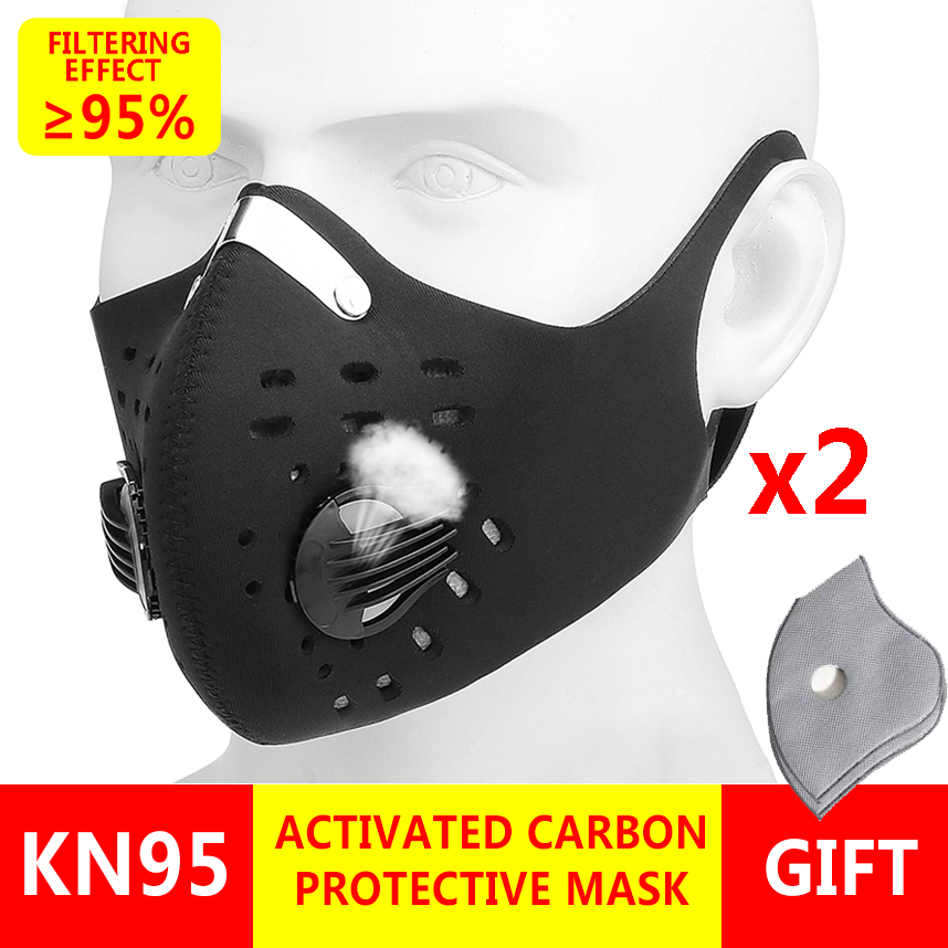 2pcs/lot KN95 Coronavirus Mask 5 layers of protection Mouth Mask Respirator Masque Virus Mask Anti Droplet Infections Face Masks 1