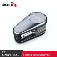 SmallRig  Pocket-Sized DSLR Camera Rig Folding Screwdriver Kit Explorer Aluminum Light Weight Mini Multifunction Tool 2371