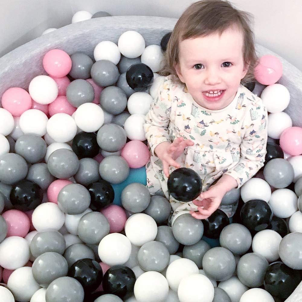 100pc//Set Black White Gray Children Marine Ball Swimming Pit Play Toy Baby Gift