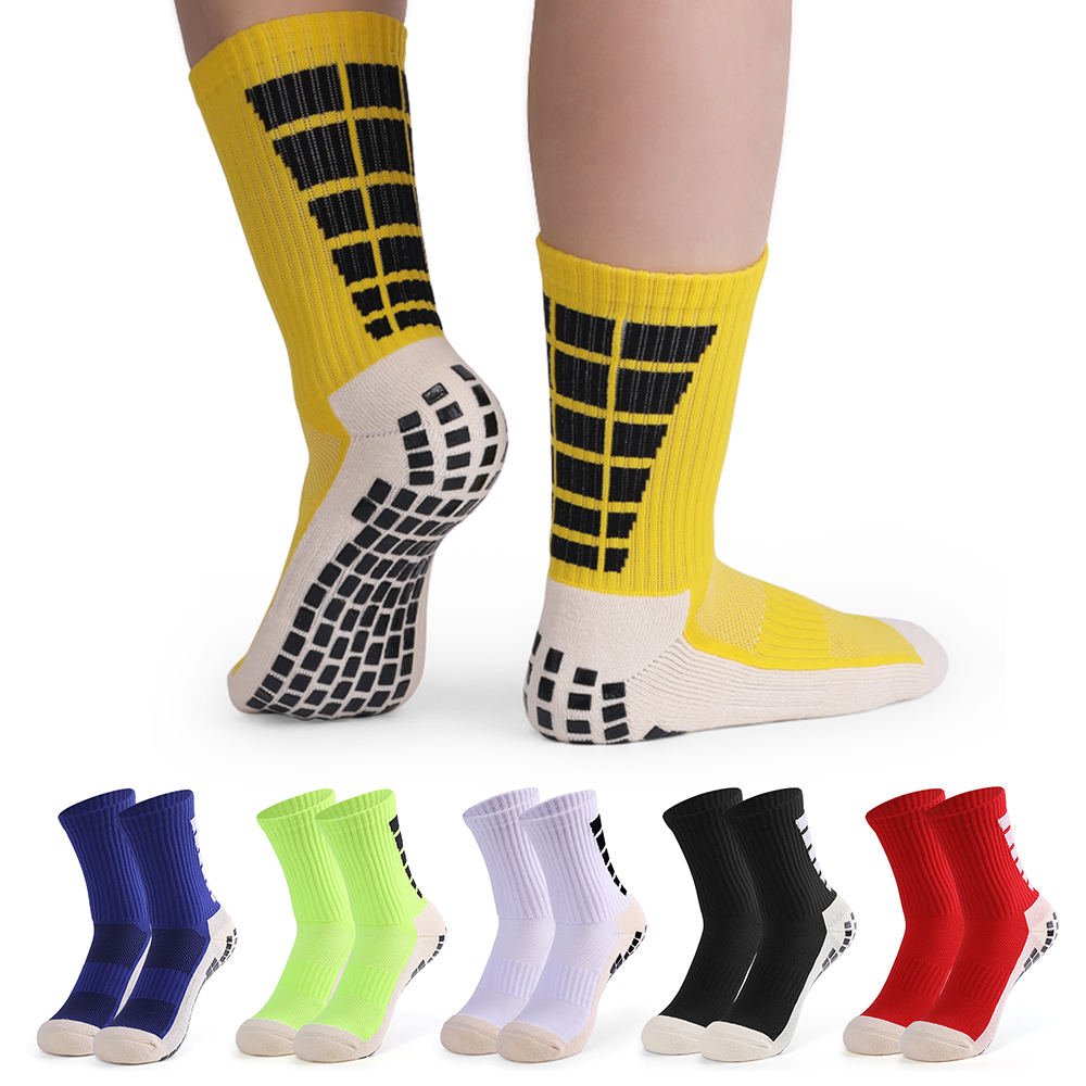 Men's Anti Slip Football Socks Compression Athletic Socks for basketball Soccer Volleyball Running Trekking Hiking 1 Pairs