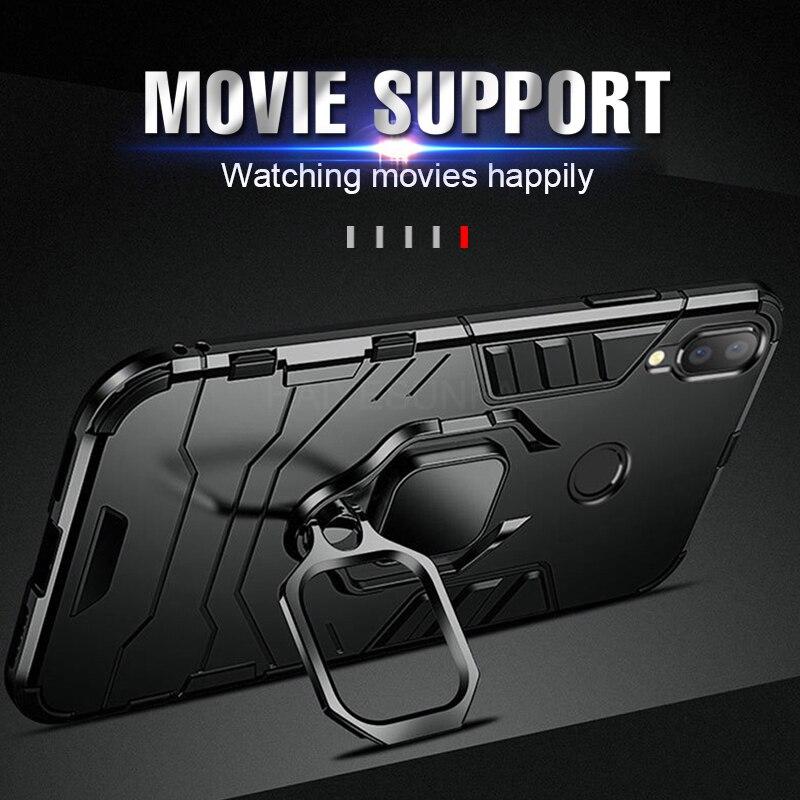 Роскошный Магнитный ударопрочный автомобильный чехол 4 в 1 с кольцом для Xiaomi Redmi Note 8 7 6 Pro 5 4X, чехол для Redmi 4X 6X A2 5X A1 7, чехол