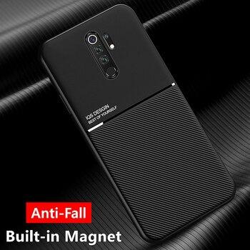 Перейти на Алиэкспресс и купить Для Xiaomi Mi 9T 9 8 Lite A3 A2 A1 Note 10 Pro противоударный чехол с противоударным магнитом для Redmi Note 8 9 Pro 9S 8T 7 7A 8A K20