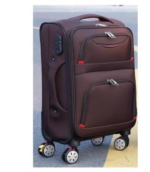 Maleta de viaje con ruedas, Maleta de viaje con ruedas, Maleta Oxford Spinner, maleta con ruedas, bolsas con ruedas para hombres