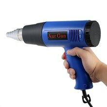 Pistola de aire caliente de 1800W, pistola de aire caliente para soldar, secador de pelo, boquilla de aire caliente para construcción, secador de pelo, herramientas industriales