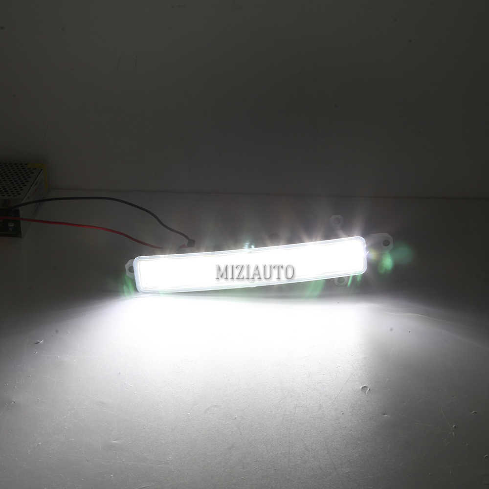 2 adet LED araba gündüz farları Citroen c-elysee için 2016 DRL 6 LED ışık sis farları kapak kaynağı araba stil su geçirmez