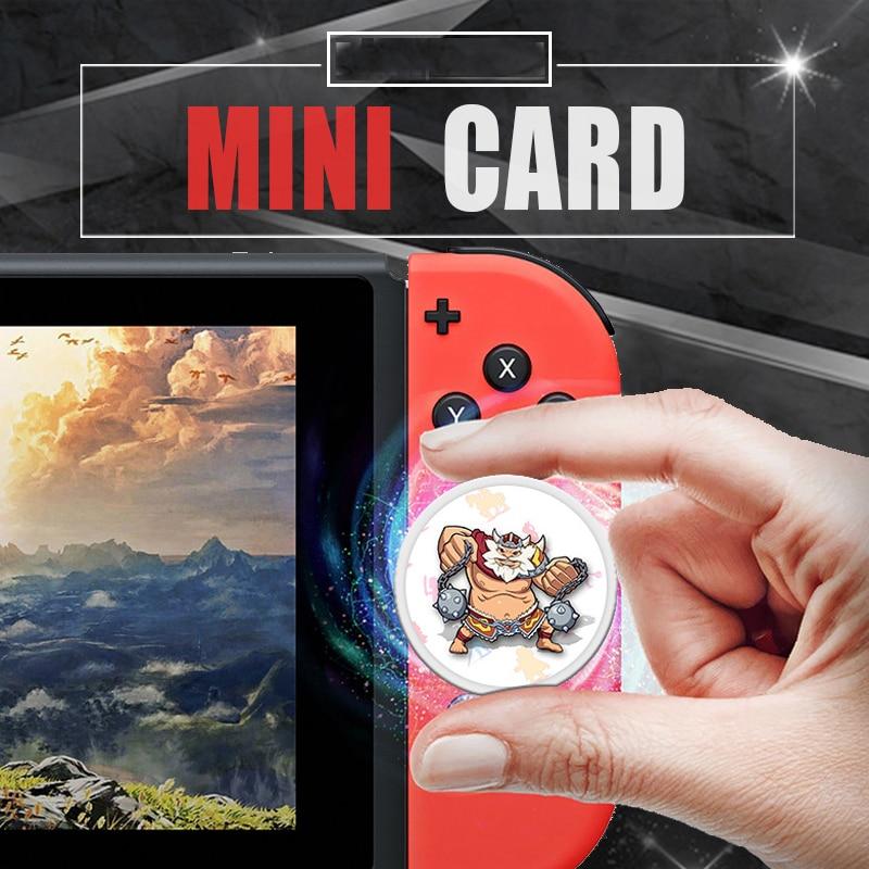 Game Breath for The Wild Zelda Mario Amiibo Cosplay Props The Games Card of Super Smash Bros Link Card Super Odyssey Splatoon