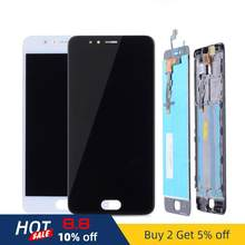 Original 5.2'' Display For Meizu M5S LCD Display Touch Screen With Frame Replacement Panel For Meizu M5S LCD M612H Module M5S #4(China)