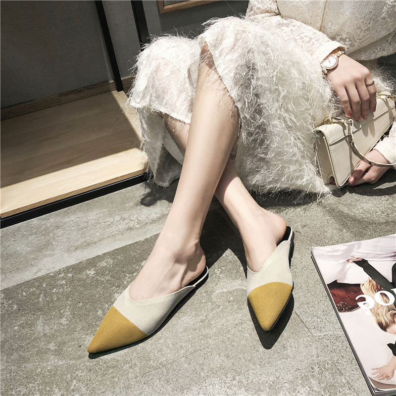para mulheres, sapatos baixos de verão