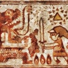 Mural pintura rupestre la leyenda de Zelda póster de videojuegos Retro lienzo de DIY pegatinas de pared de arte, carteles para Bar decoración regalo