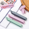 12Pcs/Set Portable New Kitchen Storage Food Snack Seal Sealing Bag Clips Sealer Clamp Plastic Kitchen Accessories