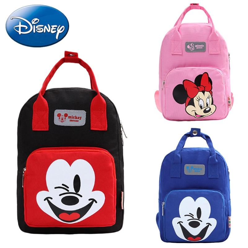 Toddler Kid Disney Cartoon Mickey Mouse Backpack Kindergarten School Bag Satchel