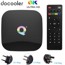 Q PLUS Allwinner H6 6K Smart TV Box Android 9.0 4GB 64GB 32GB Quad Core USB3.0 Playstore Youtube Q Plus Wifi Set Top Box PK T95Q