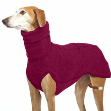 7 kolorowy pies ubrania zimowe utrzymać ciepłe stałe pies na zewnątrz sweter wysoki kołnierz kurtka dla zwierząt dla średnich duże psy Golden Retriever tanie tanio CN (pochodzenie) Fashion Winter Solid Ployster Mascotas Clothing Great Dane
