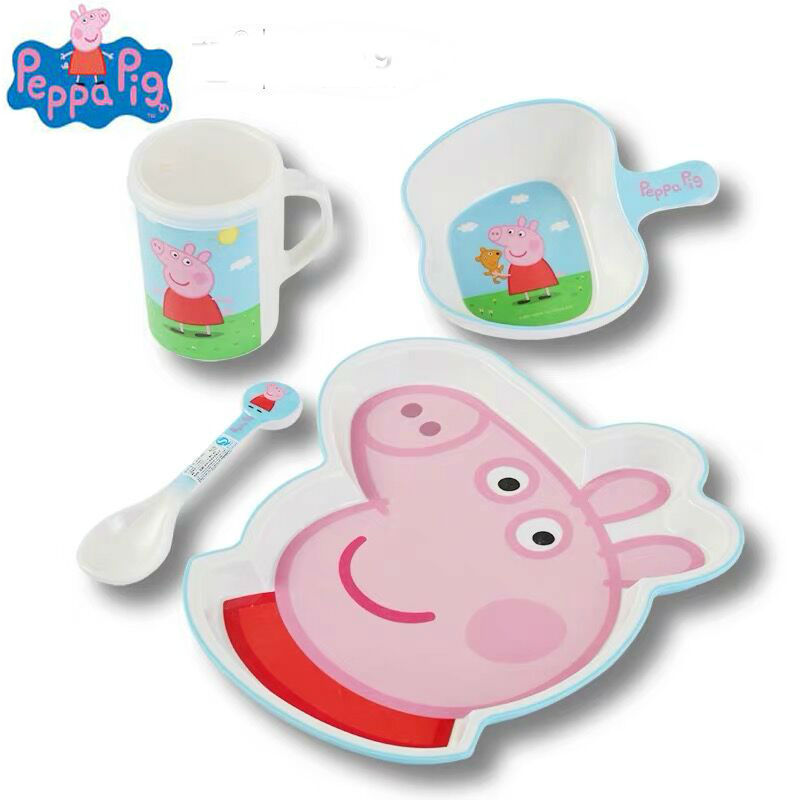 2019 Hot New Genuine PEPPA PIG Melamine Cup Doll George Zoe Suzy Rebecca Emily Danny Bear Dinosaur Children Toy Birthday Gift