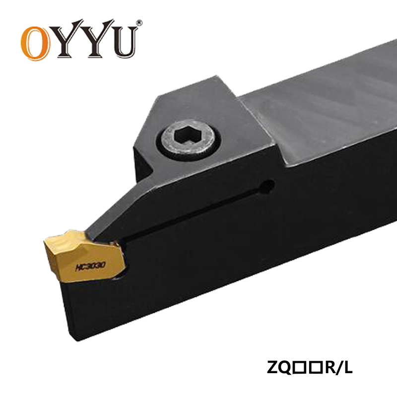 OYYU ZQ2525R ZQ2020R ZQ1616R 2 3 4 5 ZQ ZQ2020L Lathe Tool Holder CNC Tools Carbide Inserts Boring Bar Grooving Turning Tool