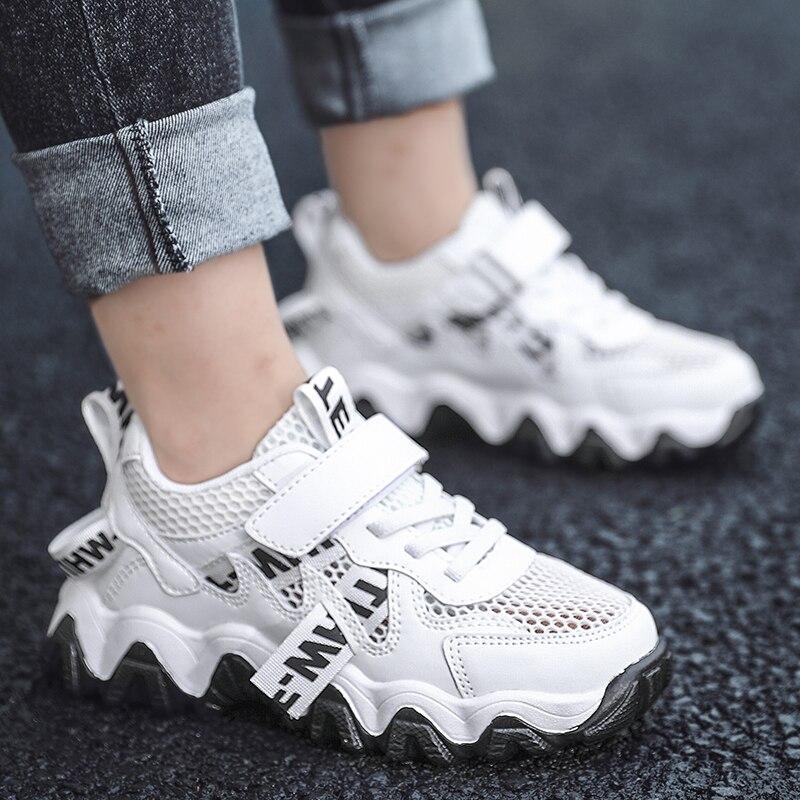 Летняя детская обувь унисекс; Удобные кроссовки для девочек; Сетчатая детская обувь; Дышащая Tenis Infantil Menina; Размеры 28 38|Кроссовки| | АлиЭкспресс