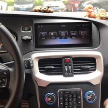 8,8 дюймов RAM2G Android 8,0 PX6 Автомагнитола стерео для Volvo V40 2012- gps Поддержка trip informaiton full touch