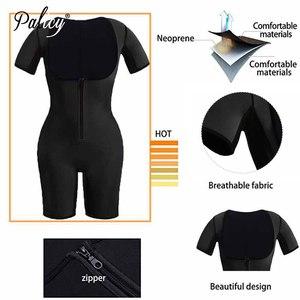Image 3 - Womens Full Body Shaper Modeling Strap S 3XL Plus Size Neoprene Tank Top Sweat Sauna Suit Elastic Slim Vest Shapewear Bodysuits