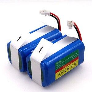 2020 novo 14.8v 3500mah robô aspirador de pó bateria substituição para chuwi ilife v7 v7s pro varredor robótico