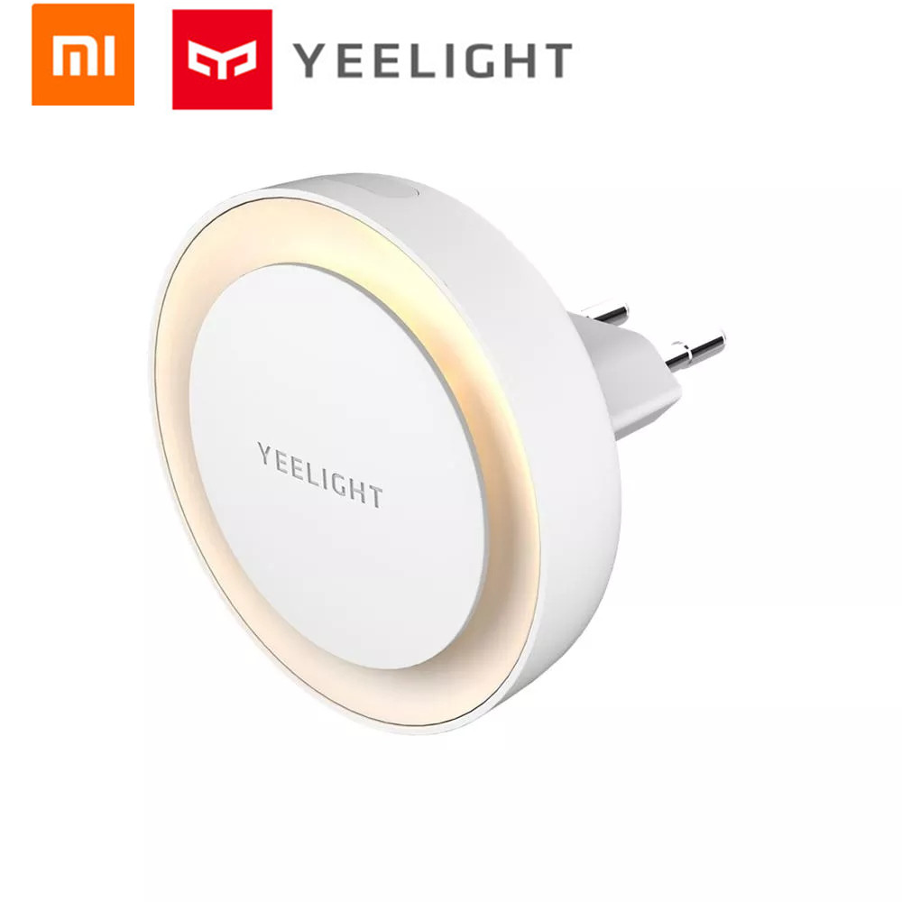 Internatinal Veision Xiaomi Mijia Yeelight YLYD11YL Light Sensor Plug-in LED Night Light Ultra-Low Power Consumption EU UK Plug