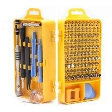 108 в 1 Набор отверток из хром-ванадиевой стали, высокоточные магнитные отвертки, наборы электронных устройств, инструменты для ремонта дома