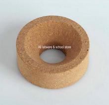 จัดส่งฟรี 10 ชิ้น/ล็อตเส้นผ่าศูนย์กลาง 80 มม.ถึง 160 มม.ห้องปฏิบัติการสังเคราะห์แหวน Cork สำหรับ 50 ml 20000 ml ขวดกลมกลม