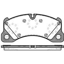 Колодки дисковые п.\ VW Touareg 3.2-3.6i/3.0-5.0TDi 05, Cayenne