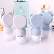 Lotion-Containers Bottle Empty-Refillable-Bottles Travel-Use Liquid Cosmetic-Press Silicone