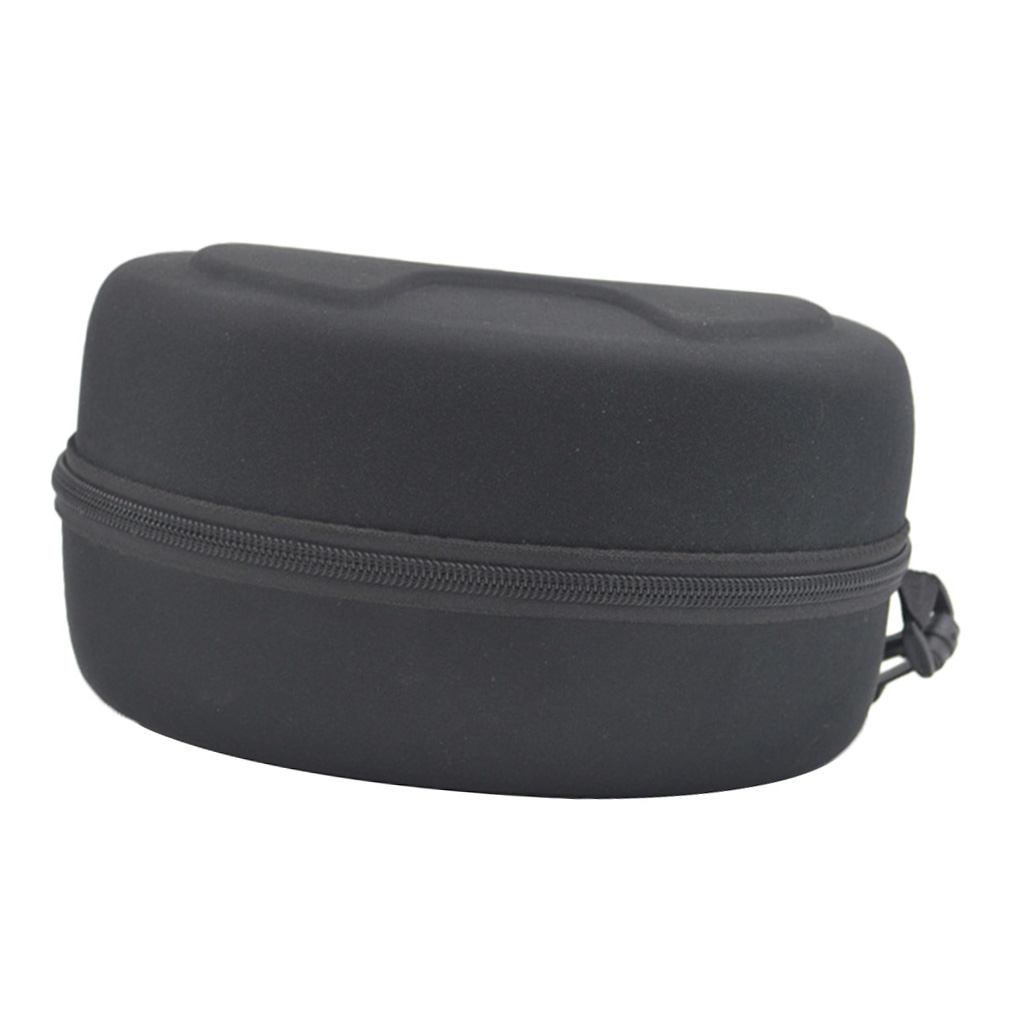 Portable Rectangle Sunglasses Glasses Hard Protective EVA Zippered Case Eyewear Holder Storage Pouch S/L For Ski Google