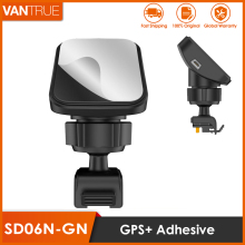 Vantrue N2 Pro/N2/T2/R3/X3 Dash Cam Mini USB Port Adhesive Windshield Mount with GPS Receiver Module for Windows & Mac